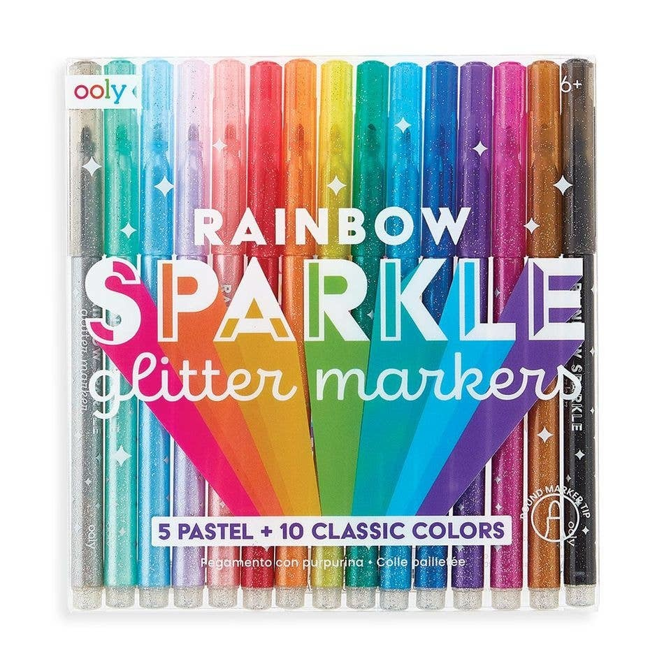 ooly Ooly Rainbow Sparkle Glitter Markers
