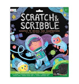 ooly Ooly Scratch & Scribble - Outer Space Explorers