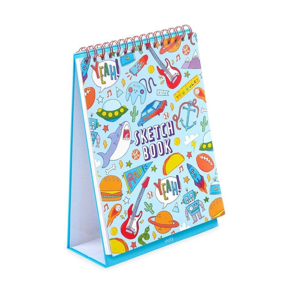 ooly Ooly Standing Sketchbook: Awesome Doodles