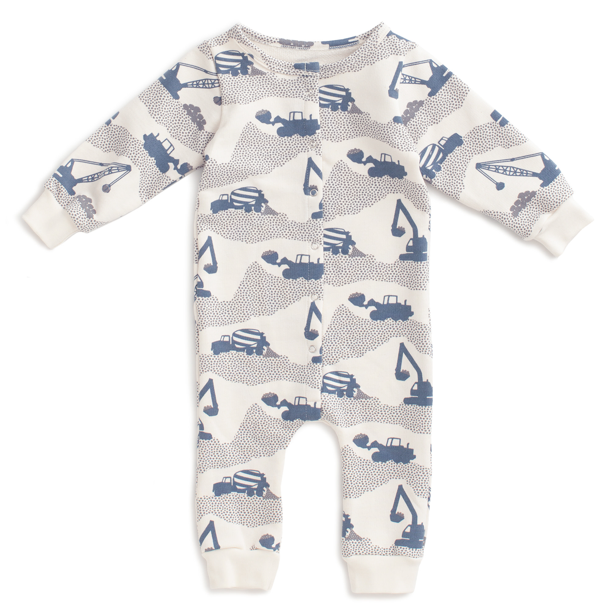 Winter Water Factory Winter Water Factory French Terry Construction Jumpsuit
