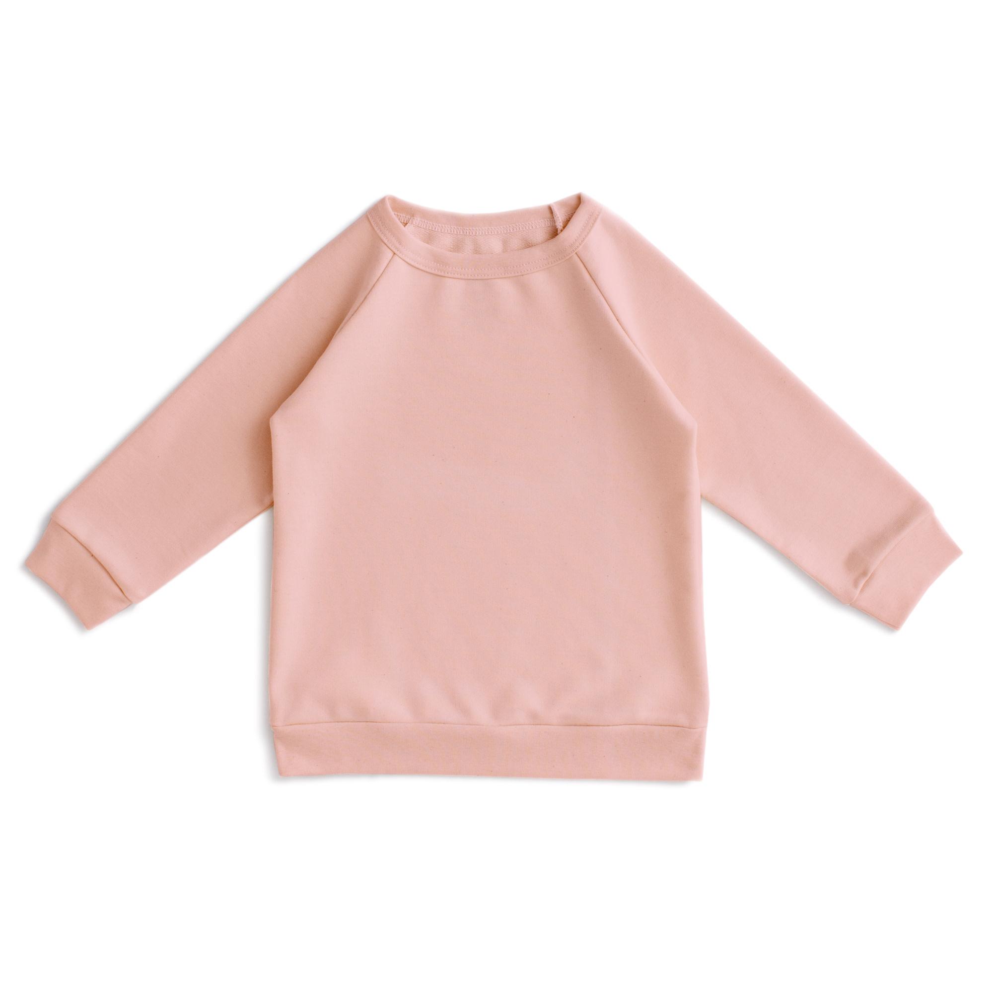 Winter Water Factory Winter Water Factory Solid Pink Sweatshirt