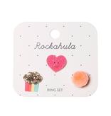 Rockahula Happy Heart Ring Set
