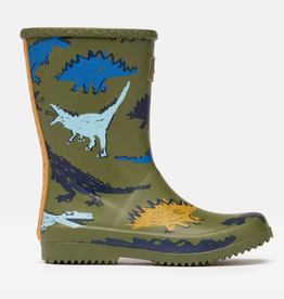 Joules Joules Roll Up Flexible Dino Rain Boots