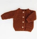 Huggalugs Huggalugs Garter Stitch Cardigan Sweater