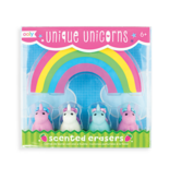 ooly Ooly Unique Unicorns Scented Erasers - Set of 5