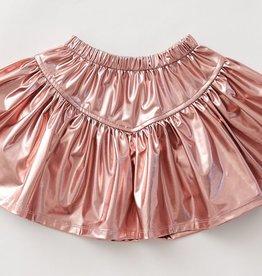 Pink Chicken Pink Chicken Alexis Lame Skirt