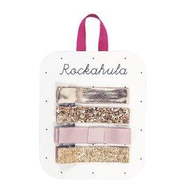 Rockahula Sparkle Bar Clips Gold
