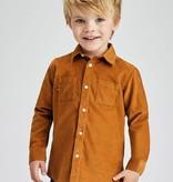 Mayoral Mayoral Micro Cord Long Sleeve Shirt