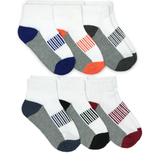 Jeffries socks Jefferies Sporty Half Cushion Quarter Socks 6 Pair Pack