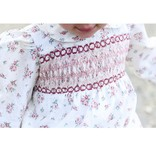 Maddie & Connor Maddie & Connor Madison Floral Smocked Bubble
