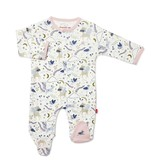 Magnificent Baby Magnetic Me Wonderland Organic Cotton Magnetic Footie