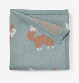 Elegant Baby Elegant Baby Fox Knit Baby Blanket