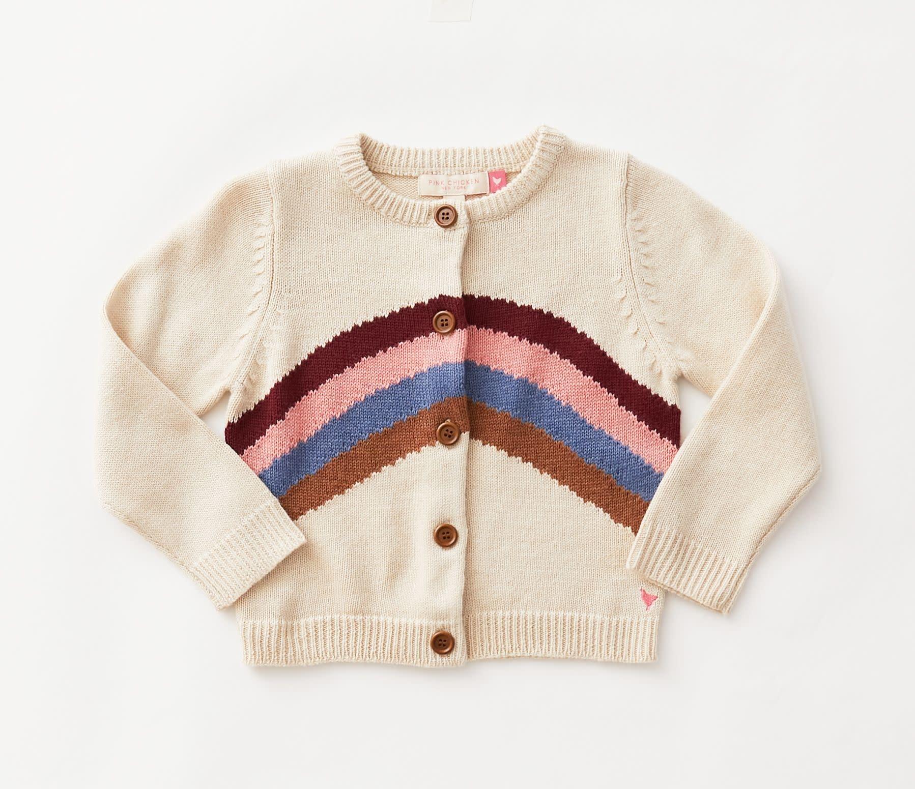 Pink Chicken Pink Chicken Rainbow Sweater