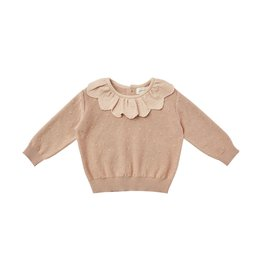 Quincy Mae Quincy Mae Petal Knit Sweater