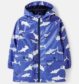 Joules Joules Skipper Showerproof Printed Rubber Raincoat