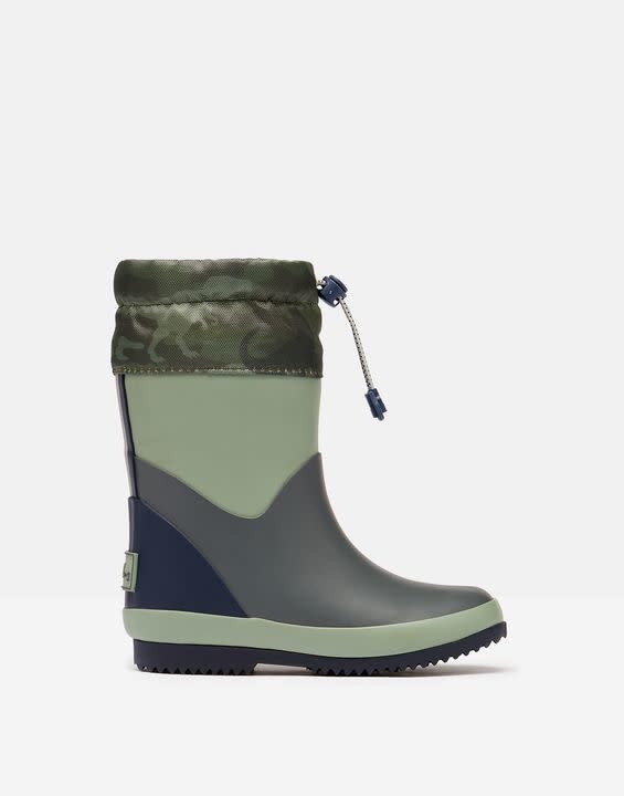 Joules Joules Warm Rain Boots with Toggle Fastening
