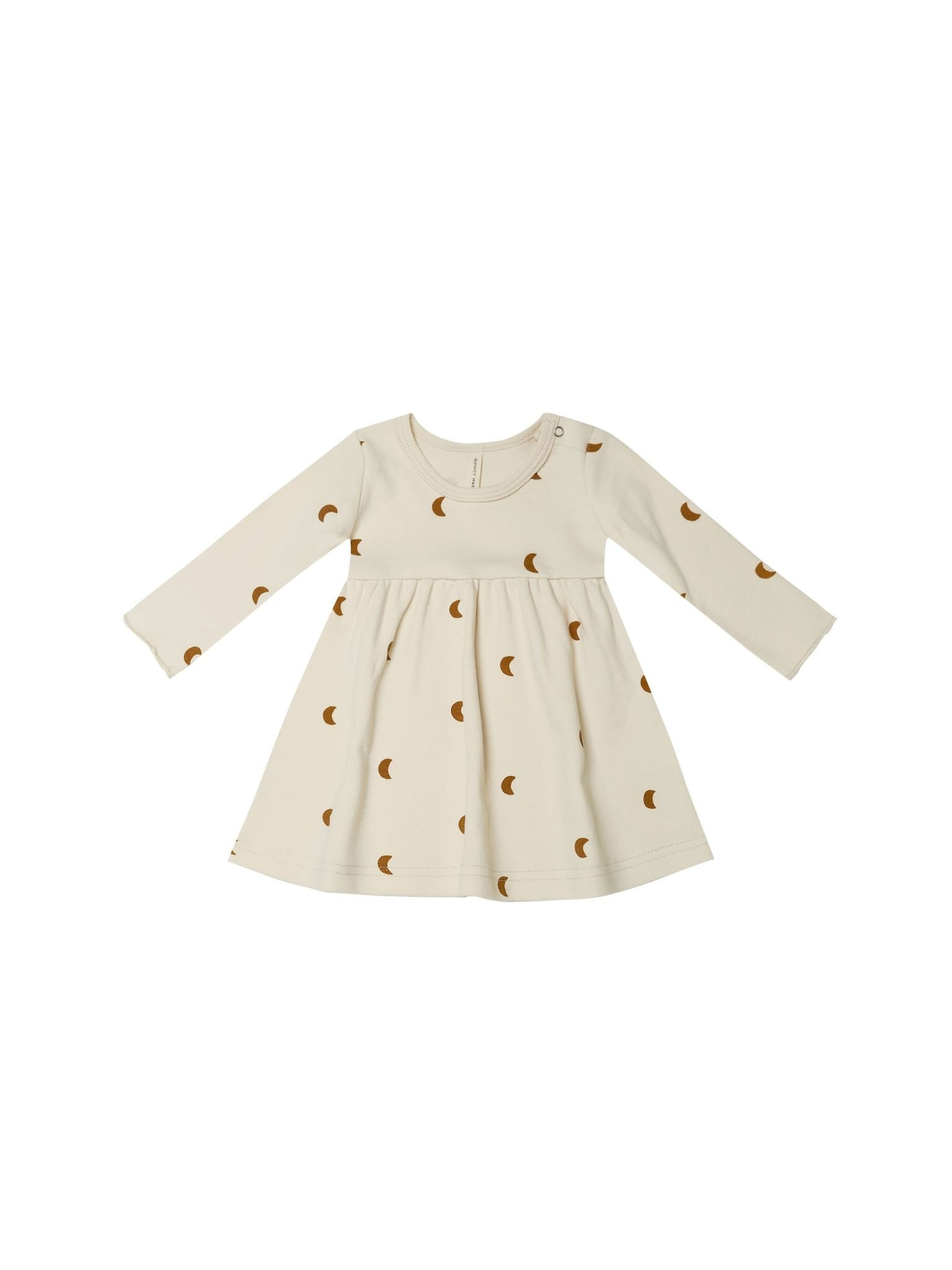 Quincy Mae Quincy Mae Jersey Long Sleeve Moons Dress