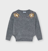 Mayoral Mayoral Floral Sweater