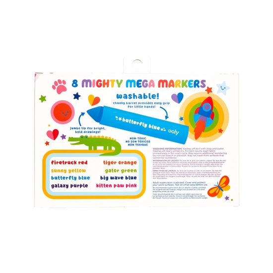 ooly Ooly Mighty Mega Markers - Set of 8