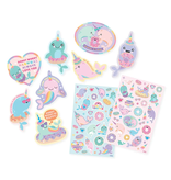 ooly Ooly Nom Nom Narwhals Scented Stickers