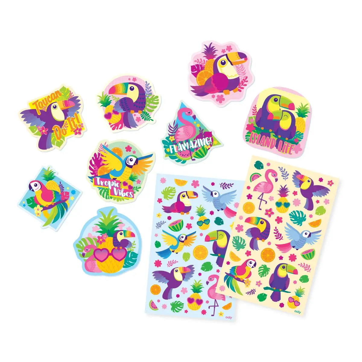 ooly Ooly Tropical Birds Scented Stickers