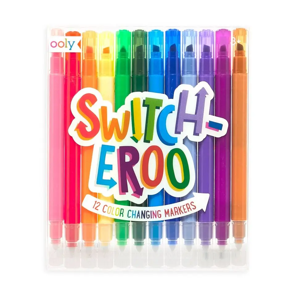 ooly Ooly Switch-eroo! Color-Changing Markers 2.0