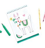 ooly Ooly Standing Sketchbook: Funtastic Friends