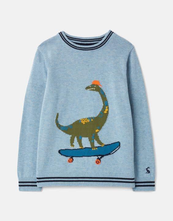 Joules Joules Zany Intarsia Knit Sweater