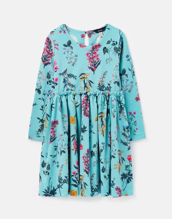 Joules Joules Hampton Paperbag Waist Jersey Dress