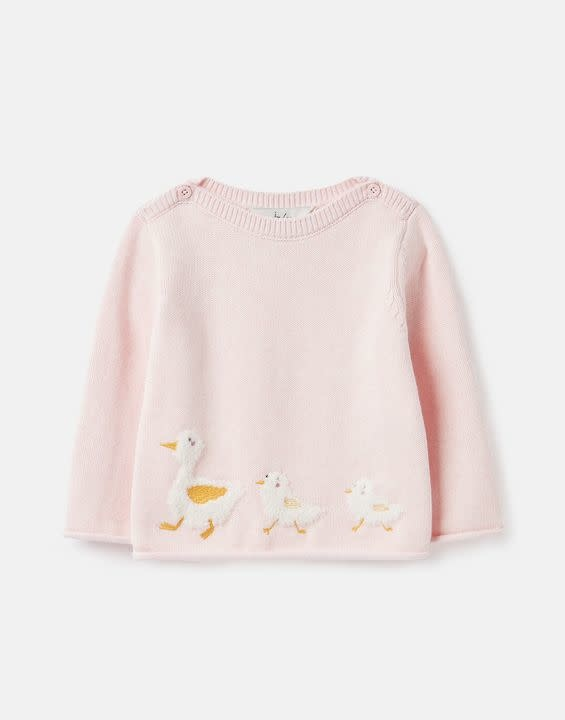 Joules Joules Winnie Artwork Knitted Sweater