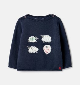 Joules Joules Barney Sheep Knitted Sweater