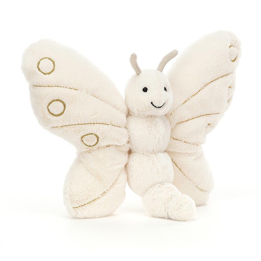 JellyCat JellyCat Glistening Winter Butterfly
