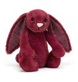 JellyCat JellyCat Bashful Sparkly Cassis Bunny Medium