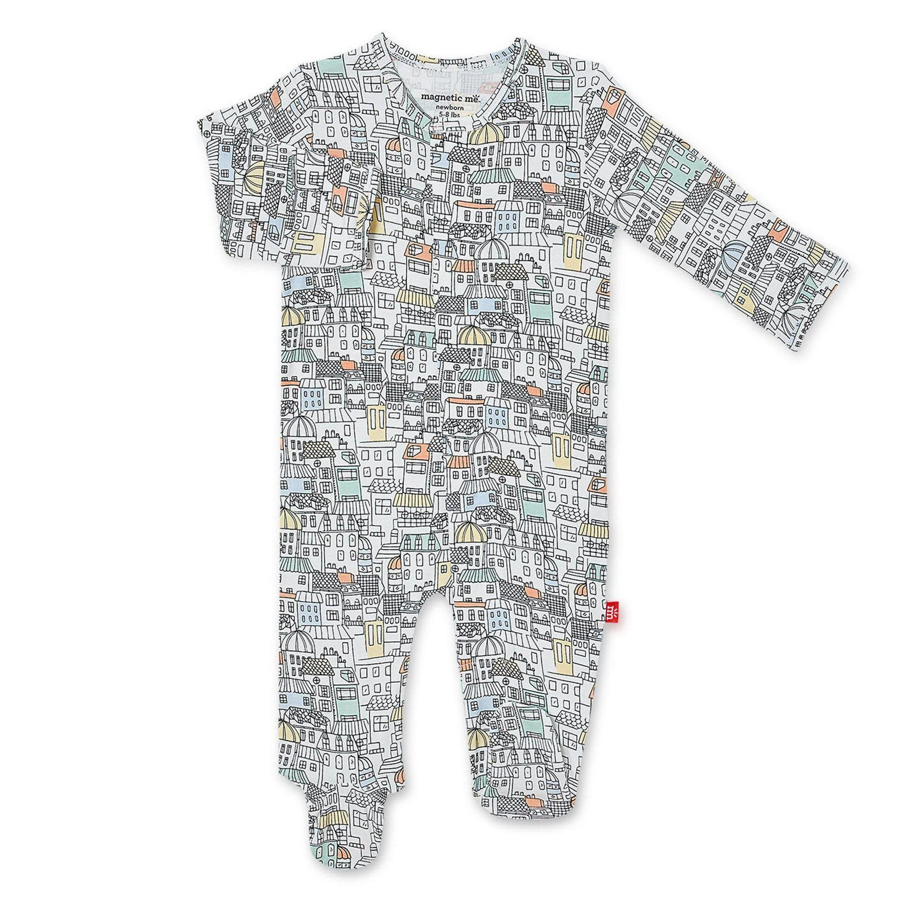 Magnificent Baby Magnetic Me We Built this City  Modal Magnetic Footie