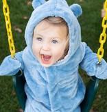 Magnificent Baby Magnetic Me Dusk Blue So Soft Minky Magnetic Pram