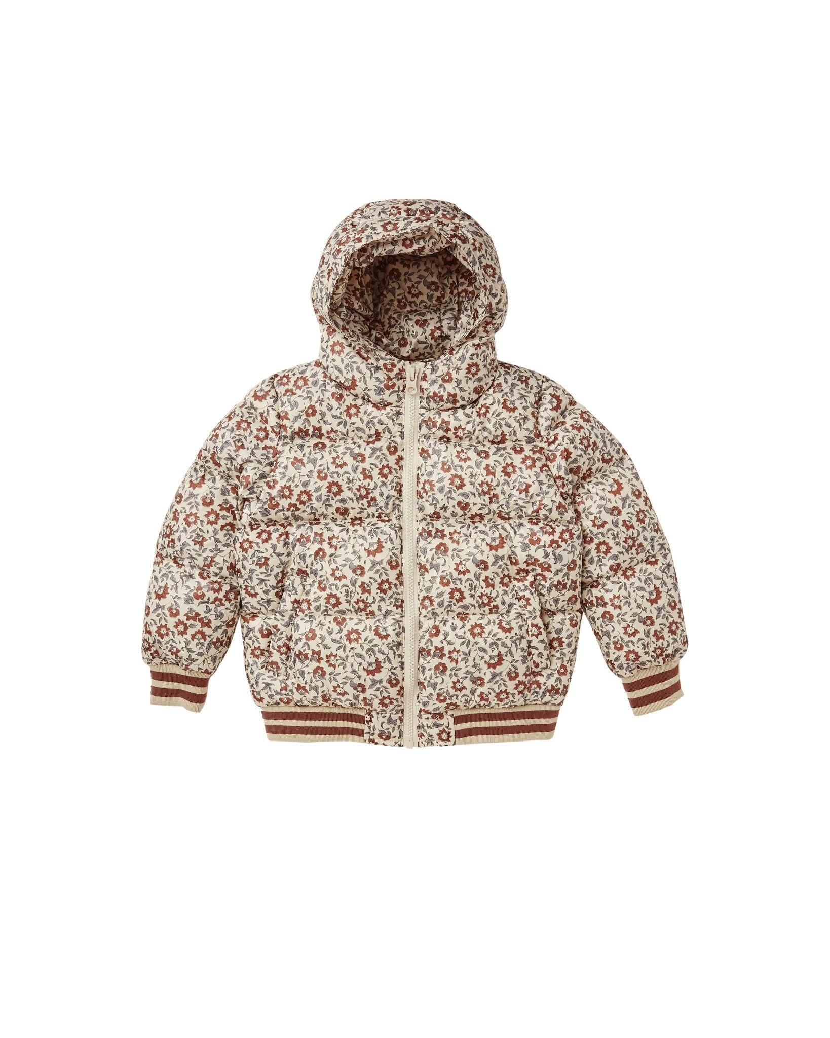 Rylee and Cru Rylee & Cru Vintage Floral Puffer Jacket