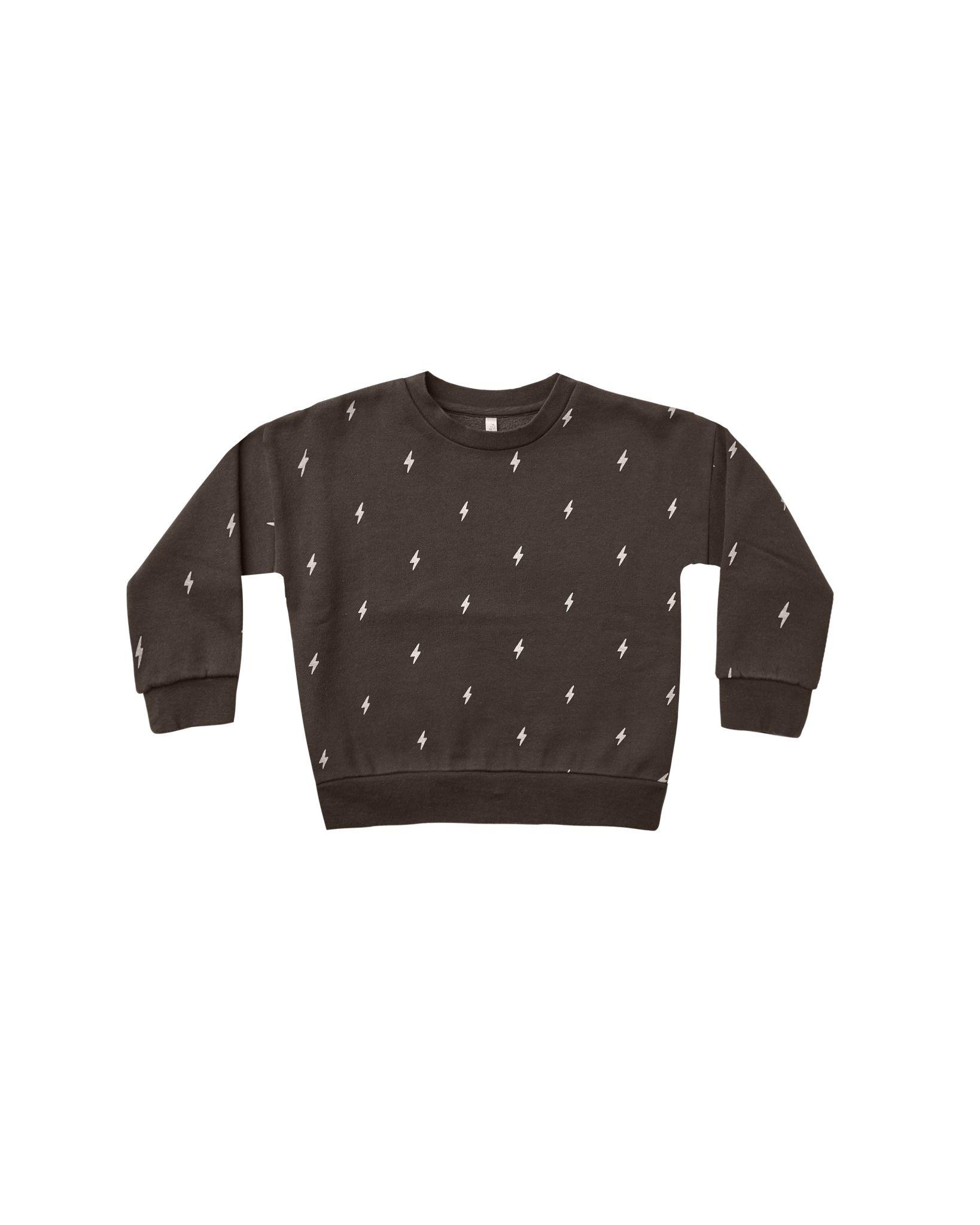 Rylee and Cru Rylee & Cru Fleece Lightening Sweatshirt