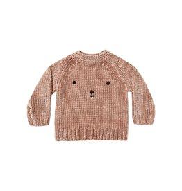 Rylee and Cru Rylee & Cru Chenille Bear Sweater
