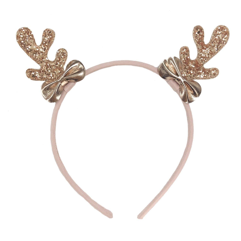 Rockahula Rose Gold Reindeer Headband