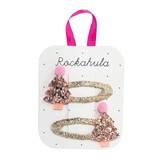 Rockahula Rose Gold Xmas Tree Clips