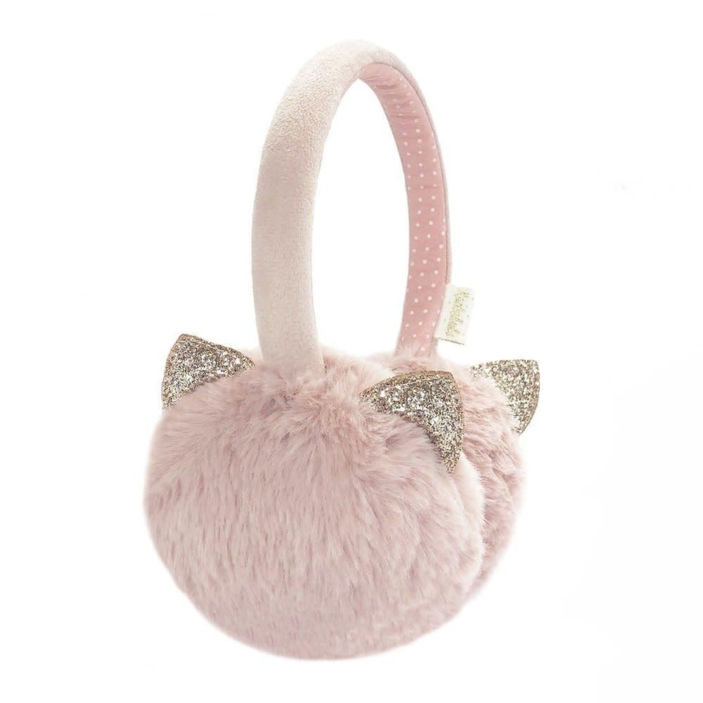 Rockahula Cleo Cat Earmuffs Pink