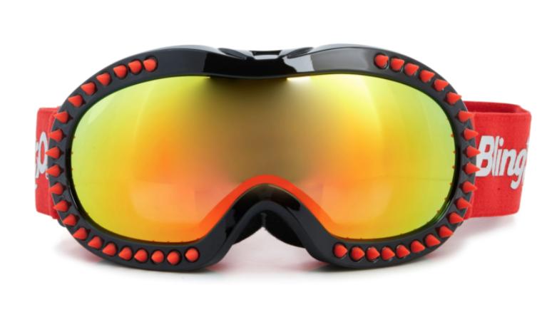 Bling2o Bling2o Ski Goggle- Red Spike