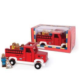 Jack Rabbit Creations Jack Rabbit To The Rescue Magnetic Fire Truck
