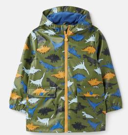 Joules Joules Skipper Showerproof Dino Rubber Raincoat
