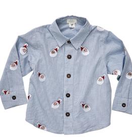 Pink Chicken Pink Chicken Jack Santa Shirt