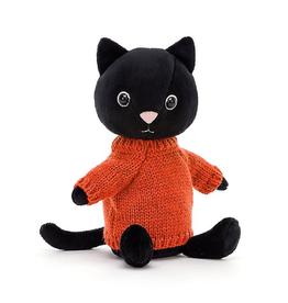 JellyCat JellyCat Knitten Kitten Tangerine