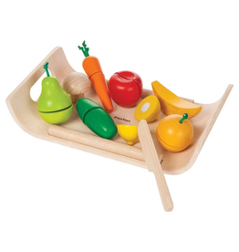 Plan Toys Plan Toys Assorted Fruit And Vegetable