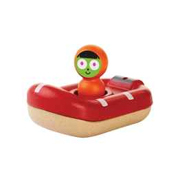 Plan Toys Plan Toys Coast Guard Boat - PBS Edition
