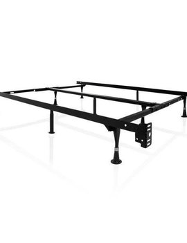 "Malouf Universal Fit Bed Frame w/ Glides by Malouf, Fits T/TXL/F/Q/K/CK, 7"" height"