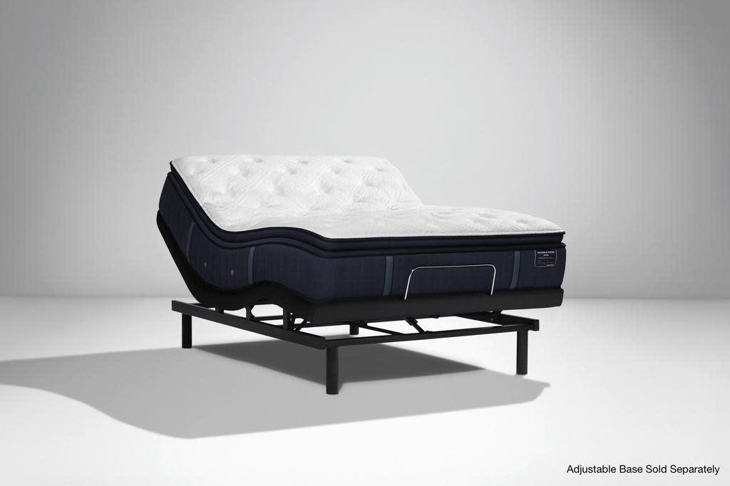 "Stearns & Foster Hurston Cushion Firm Euro Pillow Top Estate Mattress by Stearns & Foster, 13.25"""